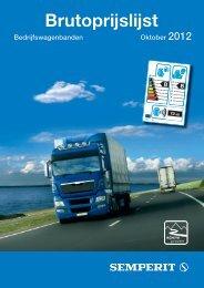Bruto prijslijst Semperit truckbanden 2012 downloaden - Continental