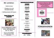 (Info-Flyer-F\366rderverein M\344rz 2007) - Hermann-Gmeiner-Schule