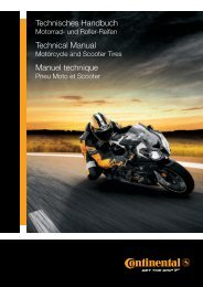Technisches Handbuch Technical Manual Manuel ... - Continental