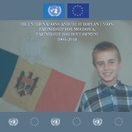 the united nations and the european union - UN in Moldova