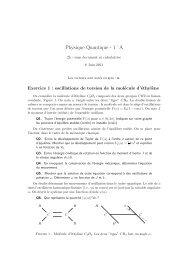 Physique Quantique - 1˚A