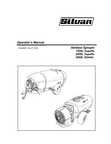 Download Manual - Silvan Australia