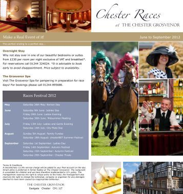 Please click here for further information on Races Dining for June to ...