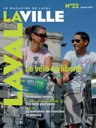 Le vélo en liberté - Laval