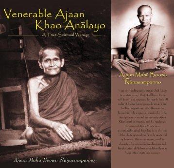 Ajaan Khao - DhammaTalks.net