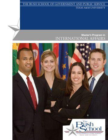 MPIA - Bush School of Government and Public Service - Texas A&M ...