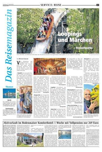 SVO: Das Reisemagazin 27. April 2013 - Recklinghaeuser Zeitung