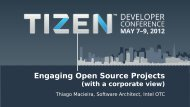 Engaging Open Source Projects
