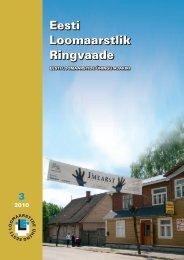 2010 Ringvaade nr.: 3 LEMMIKLOOM Hobuse skeletilihase uurimine