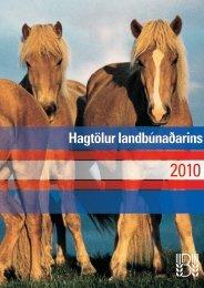Hagtölur landbúnaðarins 2010 - pdf