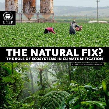 THE NATURAL FIX? - UNEP