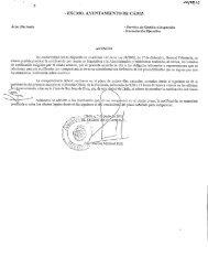 — EXC1\40' AYUNTAMIENTO DE CÁDIZ