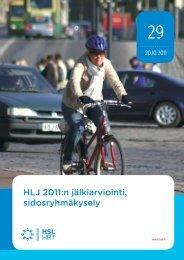 HLJ 2011:n jälkiarviointi, sidosryhmäkysely - HSL