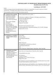 Tutkimuksen rekisteriseloste.pdf - HSL