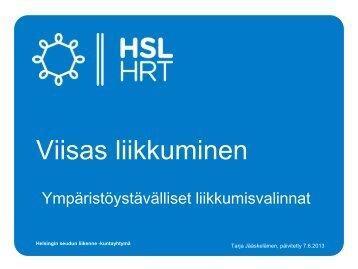 Ympäristövaikutukset - HSL