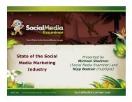 State of the Social Media Marketing Industry