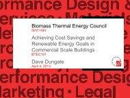 Presentation - Northeast Biomass Heating Expo 2013
