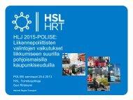 HLJ 2015-POLISE - HSL