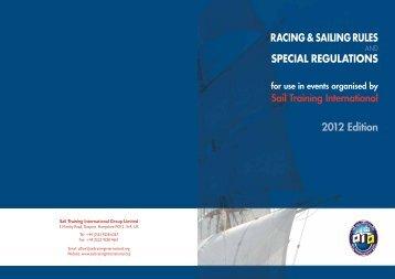 Racing & Sailing Rules - Sail Training International