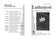 Lutherpost - Lutherkirche Kiel