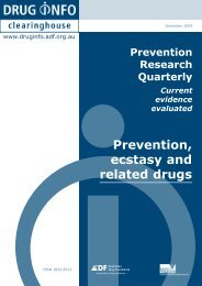 Full report [PDF: 185KB](new window) - DrugInfo - Australian Drug ...