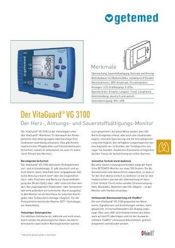 Prospekt VG3100 - HABEL Medizintechnik