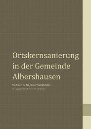 Merkblatt - Albershausen