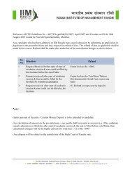 Withdrawal Rules & Form PGDM - IIM Ranchi