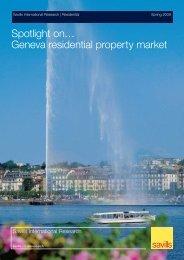 Spotlight on… Geneva residential property market - Ski chalets for sale