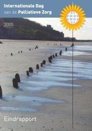 Eindrapport Internationale Dag van de Palliatieve Zorg 2005