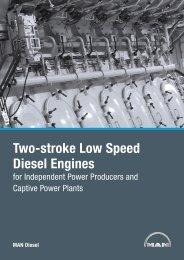 Two-stroke Low Speed Diesel Engines  -  MAN Diesel & Turbo