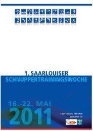 Schnupperwoche 2011 als pdf-Datei - DJK Saarlouis-Roden