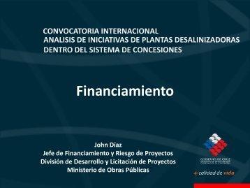 Desalinización por Sistema de Concesiones: Financiamiento ...