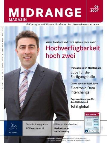 Hochverfügbarkeit hoch zwei - Midrange Magazin