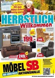Mit dem Möbel-Scheck richtig sparen! - Möbel SB Aktionshalle