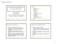 Gestion de données dans les systèmes Pair-à-Pair Plan Moteurs de ...