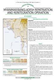 myanmar/bangladesh repatriation and reintegration ... - UNHCR