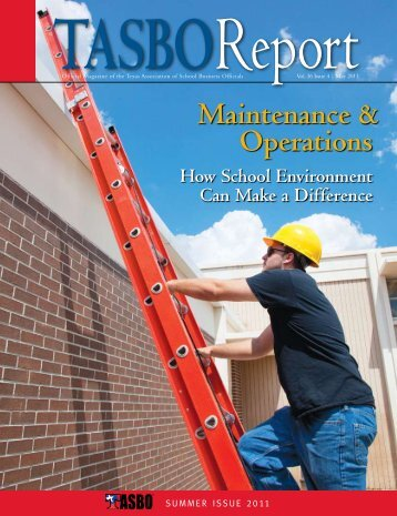 May 2011 - Texas Association of School Business Officials