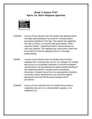 science 8th grade study guide essay