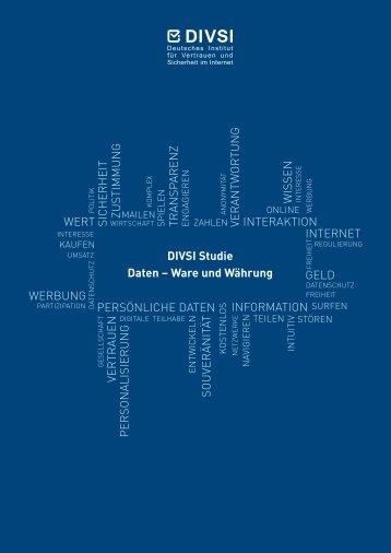 DIVSI-Studie-Daten-Ware-Waehrung