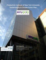 Polytechnic Institute of NYU Sustainability & Climate Action Plan