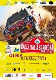 RALLY GUIDE >2 - Rally Italia Sardegna