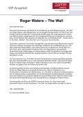 Roger Waters – The Wall - Bruder Franziskus präsentiert PINK FLOYD - Seite 2