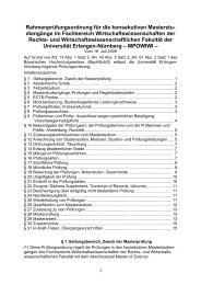 Rahmenprüfungsordnung für die konsekutiven Masterstu - am ...