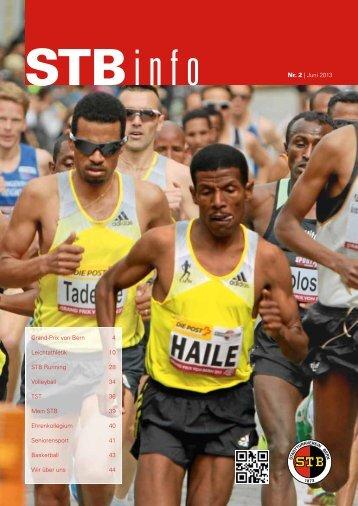Nr. 2   Juni 2013 Grand-Prix von Bern 4 Leichtathletik 10 STB ...
