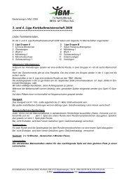 Spielführeraussprache 2001 - Turnverband Bern Mittelland