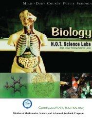 Biology - HOT Science Lab