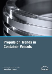 Propulsion Trends in Container Vessels - MAN Diesel & Turbo