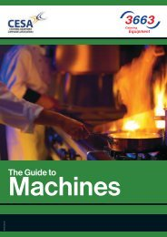 The Guide to - Catering Equipment