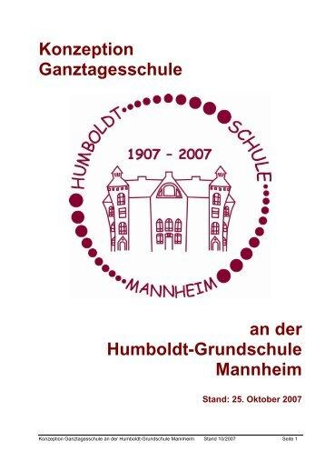 Konzeption Ganztagesschule an der Humboldt-Grundschule ...